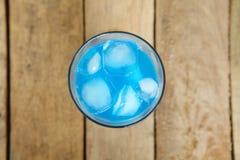 Azul de la bebida Foto de archivo libre de regalías