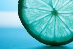 Azul de la cal del primer entonado Foto de archivo