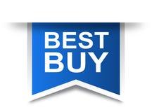 Azul de la etiqueta de la etiqueta de Best Buy libre illustration