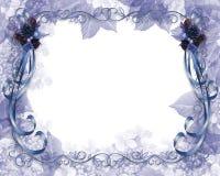 Azul de la frontera de la Navidad libre illustration