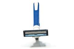 Azul de la máquina de afeitar Fotos de archivo libres de regalías