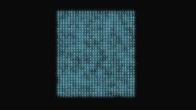 Azul de la matriz del número abstracto libre illustration