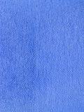 Azul de la textura de la tela Foto de archivo libre de regalías