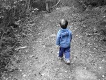 Azul de Little Boy foto de stock royalty free