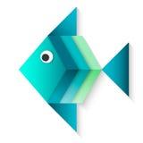 Azul de los pescados Fotografía de archivo