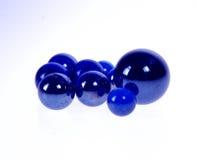 Azul de mármore imagem de stock royalty free