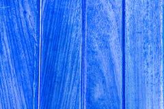 Azul de madera de la textura Fotos de archivo