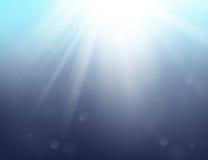 Azul de oceano Imagens de Stock