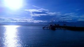 Azul de oceano Imagem de Stock Royalty Free