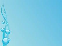 Azul de oceano Ilustração Stock