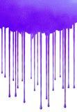Azul de Splat Fotografia de Stock Royalty Free