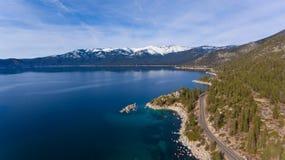 Azul de Tahoe Imágenes de archivo libres de regalías