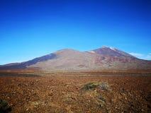 Azul de Teide imagens de stock royalty free