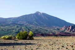 Azul de Teide Fotos de archivo libres de regalías
