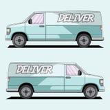 Azul de Van imagens de stock royalty free