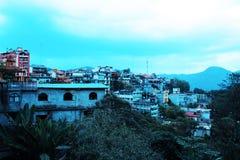 Azul de Xilitla Fotografía de archivo
