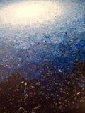 azul del arte Fotografía de archivo