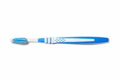 Azul del cepillo de dientes Imagenes de archivo