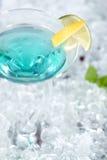 Azul del coctel Imagen de archivo libre de regalías