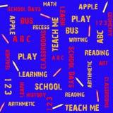 Azul del deslumbramiento de la escuela Libre Illustration