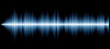 Azul del diagrama de los sonidos ilustración del vector