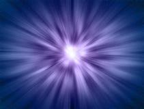 Azul del enfoque del espacio Imagenes de archivo