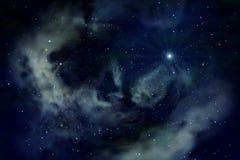 Azul del espacio Imágenes de archivo libres de regalías