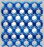 Azul del modelo Imágenes de archivo libres de regalías