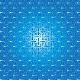 Azul del modelo Fotos de archivo