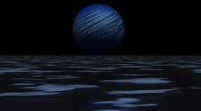 Azul del planeta Foto de archivo libre de regalías