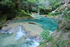 Azul del río Fotos de archivo libres de regalías