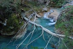 Azul del río Imagen de archivo libre de regalías