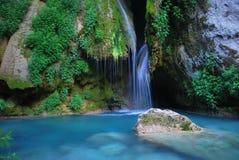 Azul del río Imagenes de archivo