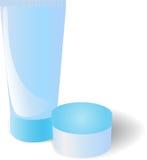 Azul del tubo Imagen de archivo