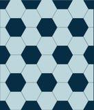 Azul del vector del modelo del fútbol libre illustration