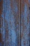 Azul descasque fora a parede da pintura imagem de stock royalty free