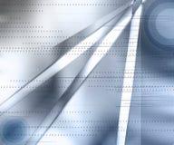 Azul dinámico Imagen de archivo libre de regalías
