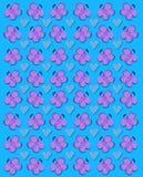 Azul do coração da vibração Fotos de Stock Royalty Free
