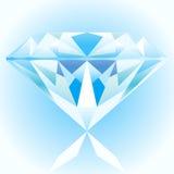 Azul do diamante Ilustração do Vetor