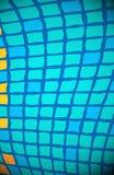Azul do fundo dos quadrados Foto de Stock
