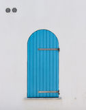 Azul do obturador Imagens de Stock