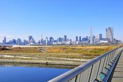 Azul do Tóquio imagens de stock