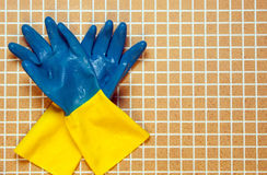 Azul dos con Imagen de archivo libre de regalías