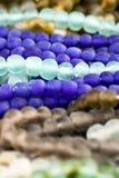 Azul e grânulos de Brown Imagens de Stock