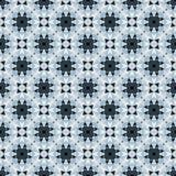 Azul e Gray Abstract Seamless Pattern Illustration Fotografia de Stock