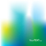 Azul e verde Fotografia de Stock