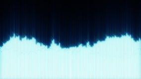 Azul eléctrico que brilla intensamente EQ ilustración del vector
