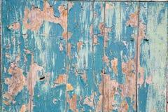 azul en pintada puerta Obraz Stock