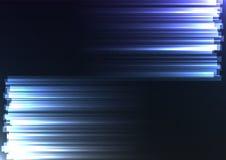 Azul enfrente de la línea de barra del extracto del lado fondo Fotos de archivo libres de regalías