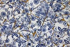Azul Holanda de las cerámicas de Delft Fotos de archivo